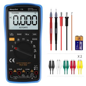 Digital Multimeter, 6000 Counts AC: DC Current or Voltage