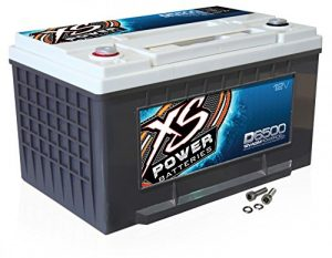 XS Power D6500 XS Series 12V 3,900 Amp AGM High Output Car Battery