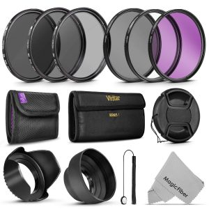 Goja- 58MM Vivitar UV CPL Lenses Filters