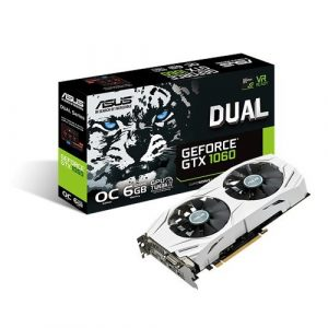 ASUS GeForce GTX 1060 Dual-Fan Gaming Graphics Card