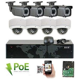 GW 8 Channel 1920P 1080p Video NVR Real-time Security Camera System