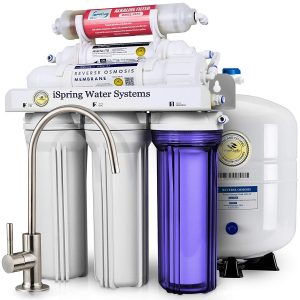 iSpring RCC7AK Superb Taste 6-Stage Under Sink Water Filter System