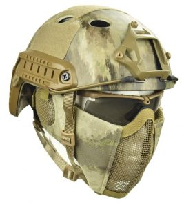 Jadedragon PJ Tactical Fast Helmet Mask