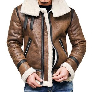 Yuxikong Bomber Full Zipper Jacket for Men