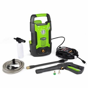 Greenworks 1500 PSI GPW1501 Pressure Washer