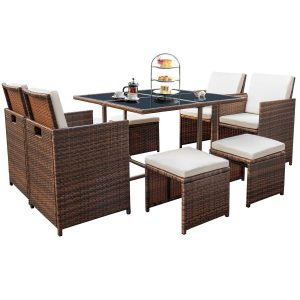 Devoko Patio Dining Set