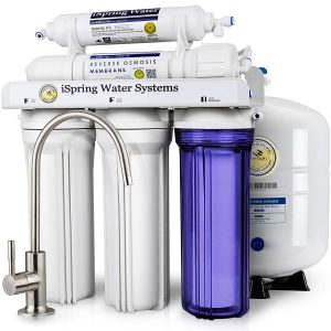 iSpring 5-Stage Certified Prestige RCC7 Water Filter System