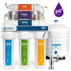 Express Water 10 Stage Alkaline Reverse Osmosis Filtration System