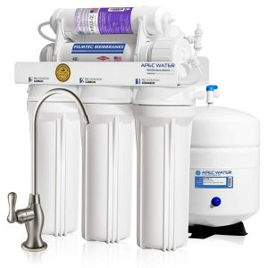 APEC Top Tier Certified 6-Stage Ultra Safe Water Filter System