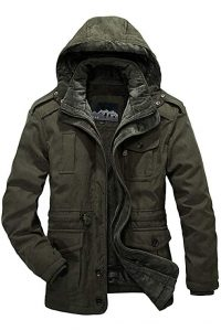 Mr.Stream 3-in-1 Men's Winter Hooded Jacket