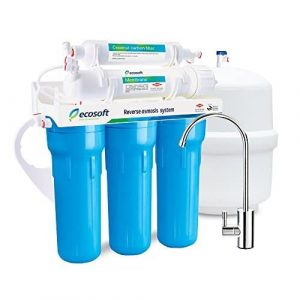 Ecosoft 5 Stage Osmosis Water Softener Filter System