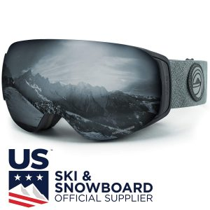 WildHorn Outfitters Roca Snowboard Goggles