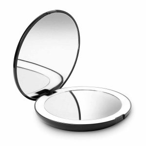 Fancii LED Lighted Compact, Portable Travel Makeup Mirror