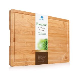 XL BAMBOO Longest Lasting CUTTING BOARD SERVING TRAY