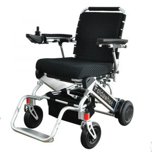 Foldawheel PW-999UL powered wheelchair