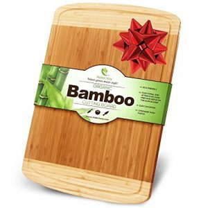 Midori Way Thick Bamboo 18x12 inches Wood Cutting Board