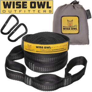 Wise Owl Outfitters 20 Ft Long Hammock Straps