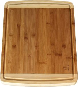 Indigo True Bamboo Cutting Extra Large Boards for Kitchen