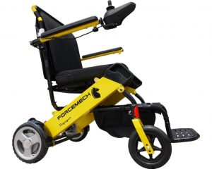 Forcemech Voyager Folding Ultra-Portable Power Wheelchair