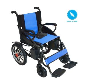 Portola Tech Foldable Lightweight New Electric Wheelchair