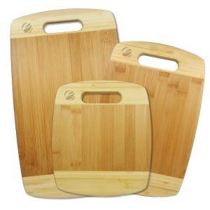 Eco4us – three Piece Cutting Bamboo Board Set