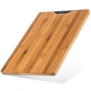 Best Designed Organic Thick Strong Bamboo Cutting Board