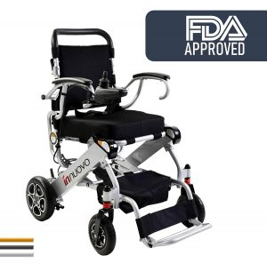 Innuovo-2019 UPGRADED Weighs 50lb Folding Electric Wheelchair