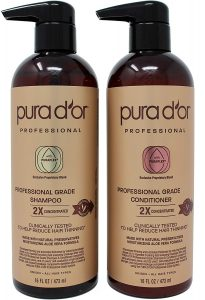 PURA D'OR Professional Grade Natural Ingredients Anti-Hair Thinning