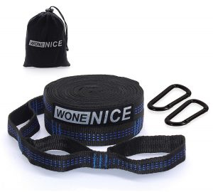 WoneNice- Hammock Straps with Two Carabiners Tree Straps for Hammock
