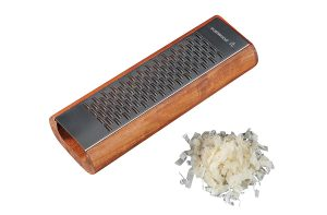 Scanwood Cherry Wood Parmesan Italian Cheese Grater