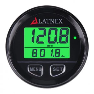LATNEX Waterproof Digital Automobile Motor Vehicle GPS Speedometer