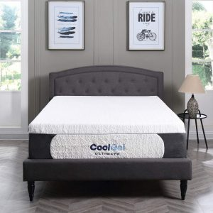 Classic Brands Cool Gel 1.0 Ultimate Gel Memory Foam 14'' Mattress Twin
