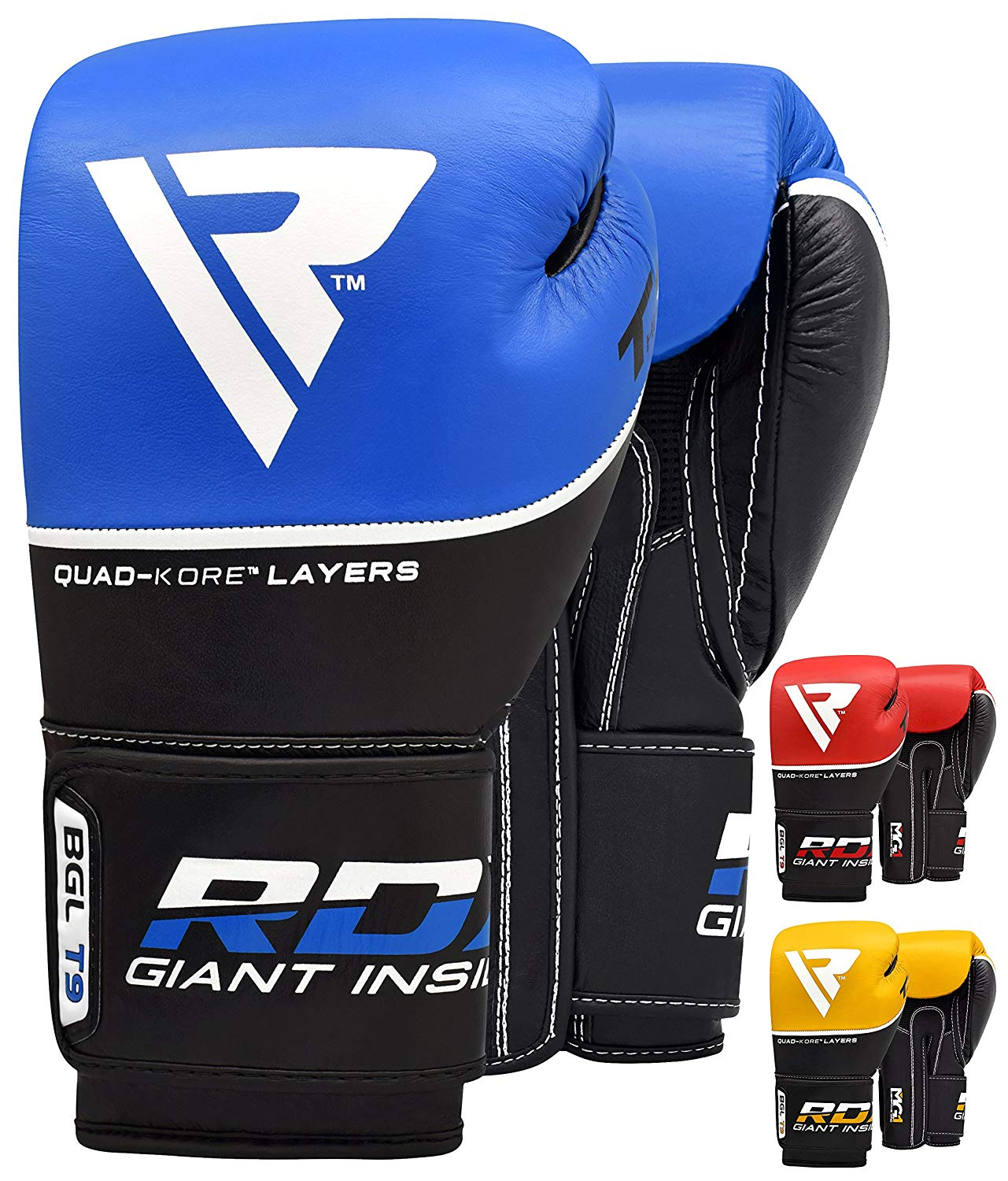 RDX Boxing Gloves for Training Kickboxing, Muay Thai and Fighting