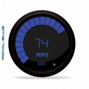 Intellitronix Digital Blue LED Speedometer