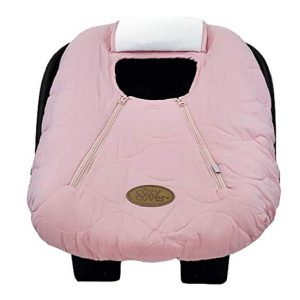 Cozy Cover Infant Car Cozy and Warm Seat Cover (Pink Quilt)
