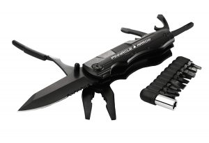 Pinnacle Arrow Multitool Pocket Knife 5 in 1 Tool for Survival and Camping