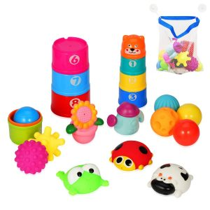 YMS-21pc Baby Educational Bath Toys