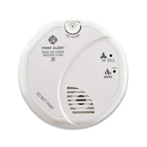 First Alert Battery Smoke Detector and Carbon Monoxide Detector Alarm