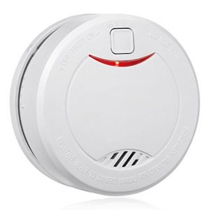 Alert Pro Battery Smoke Detector Fire Alarm with Photoelectric Sensor