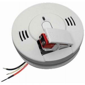 Kidde Firex AC Hardwired Carbon Monoxide & Photoelectric Smoke Alarm