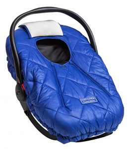 Cozy Cover Infant Car Seat Cover with Polar Fleece for Keeping Your Baby Warm
