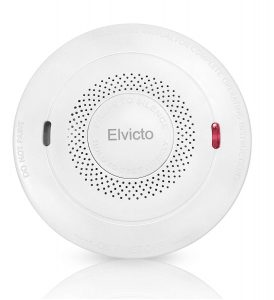 Elvicto Portable Photoelectric Smoke &Carbon Detector