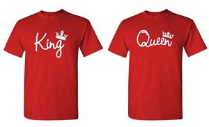 The Goozler King Queen - 2 T-Shirt Couples Combo Pack