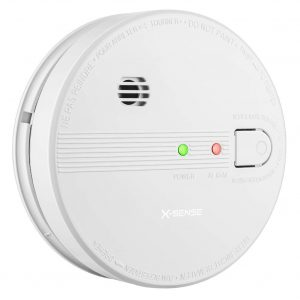 X-Sense SD21 Battery Interconnect Photoelectric Smoke Detector Fire Alarm