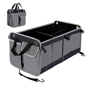 HiHiLL Car Trunk Non-Slip Bottom Organizer