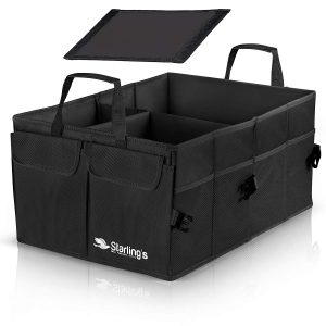 Starling's Car Trunk Super Strong Foldable Organizer, Black