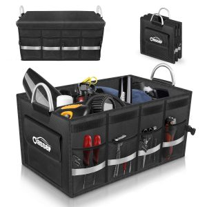 Oasser Trunk Organizer Cargo Multi Compartments Storage Organizer