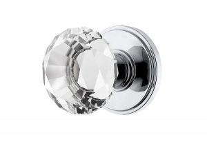 Decor Living, AMG Venus Collection Diamond Crystal Door Knobs