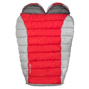 Winterial Double Mummy 2 Person Sleeping Bag
