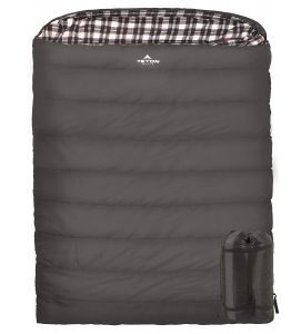 TETON Sports Fahrenheit Warm and Comfortable Mammoth Double Sleeping Bag
